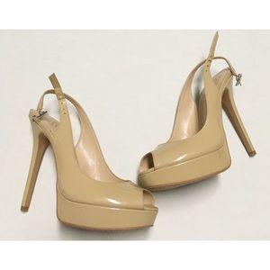 Vince Camuto Peep Toe Heels Size 6M